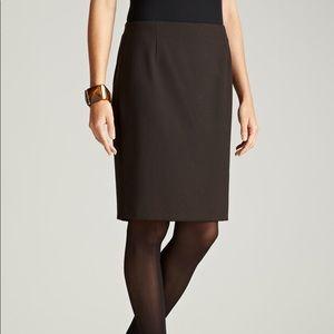 Elie Tahari Cindy Black Skirt NWT